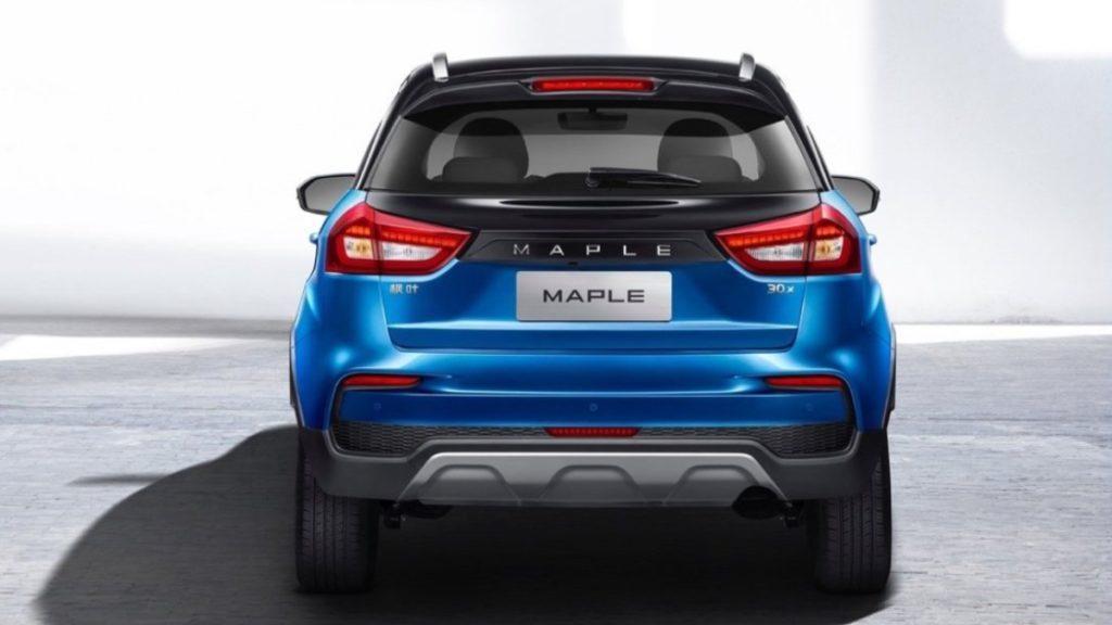 suv elettrico Maple