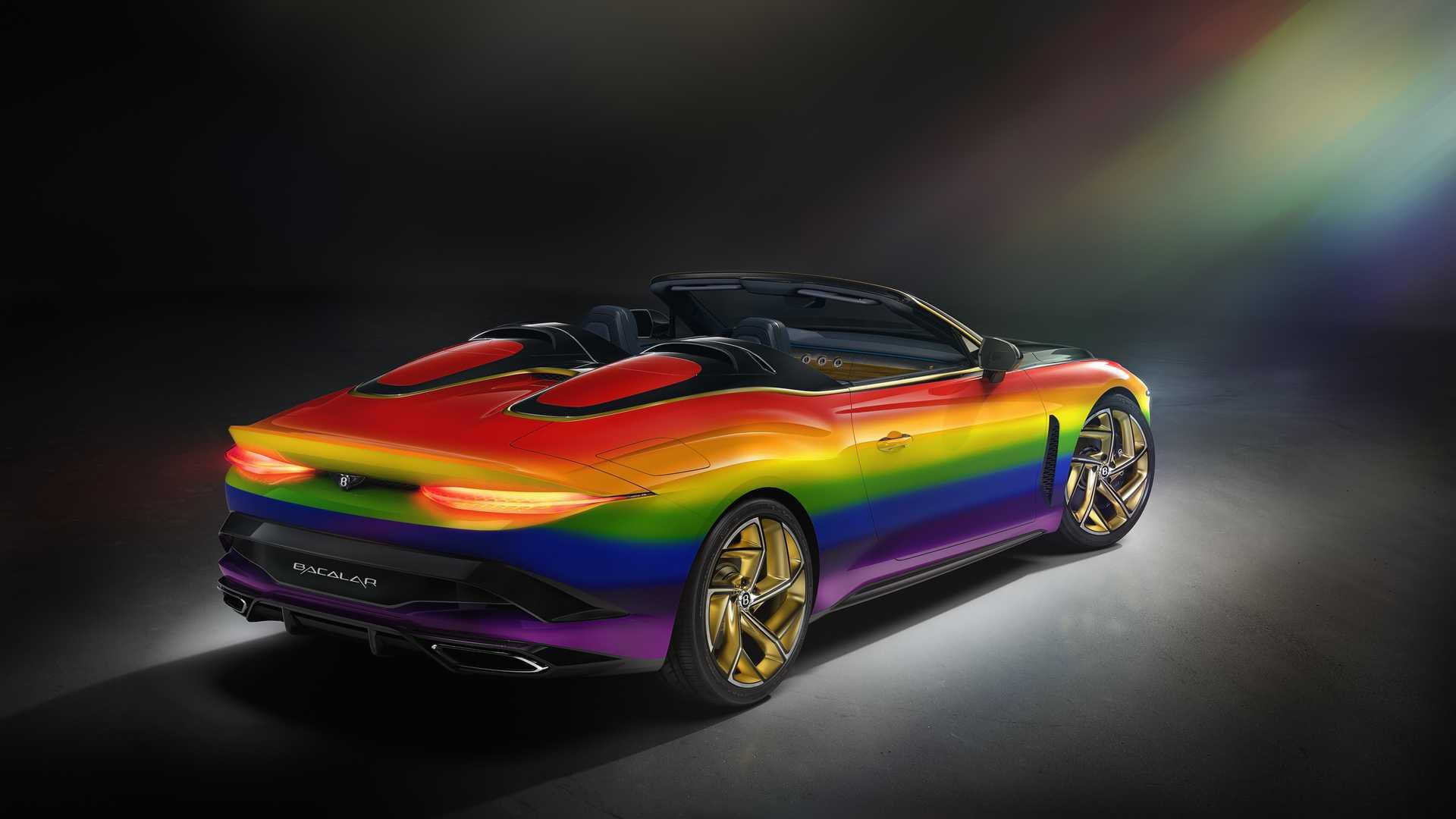 Bentley arcobaleno contest